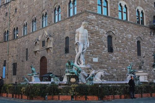 Piazza della Signoria: fontana