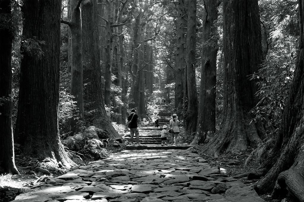 大門坂|熊野古道