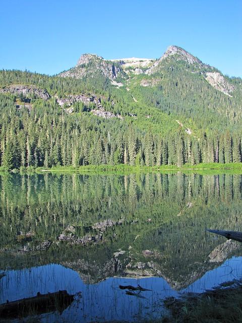 reflective Lake Hyas