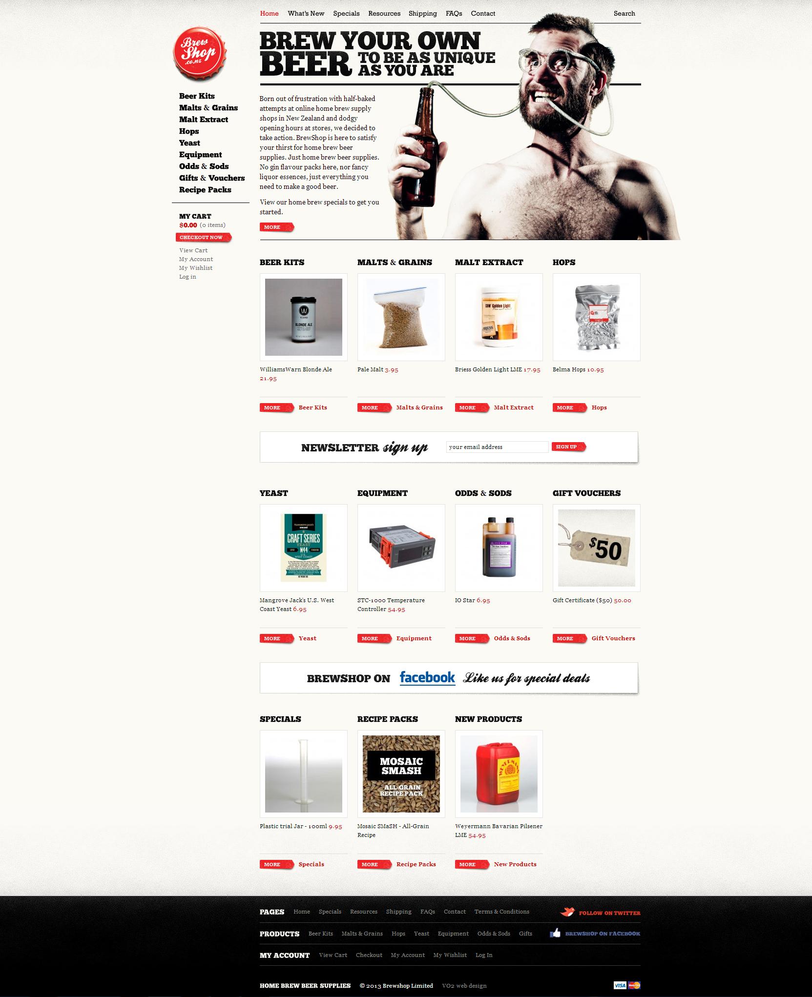 Brew  Online Shop