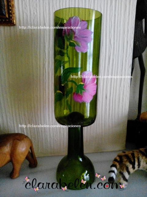 Manualidades originales Cómo cortar botellas de vino tinto