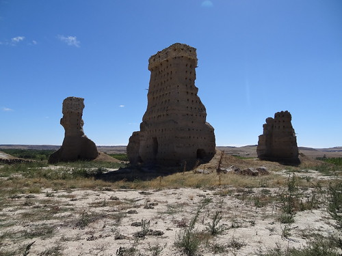 Palenzuela castle ruin.