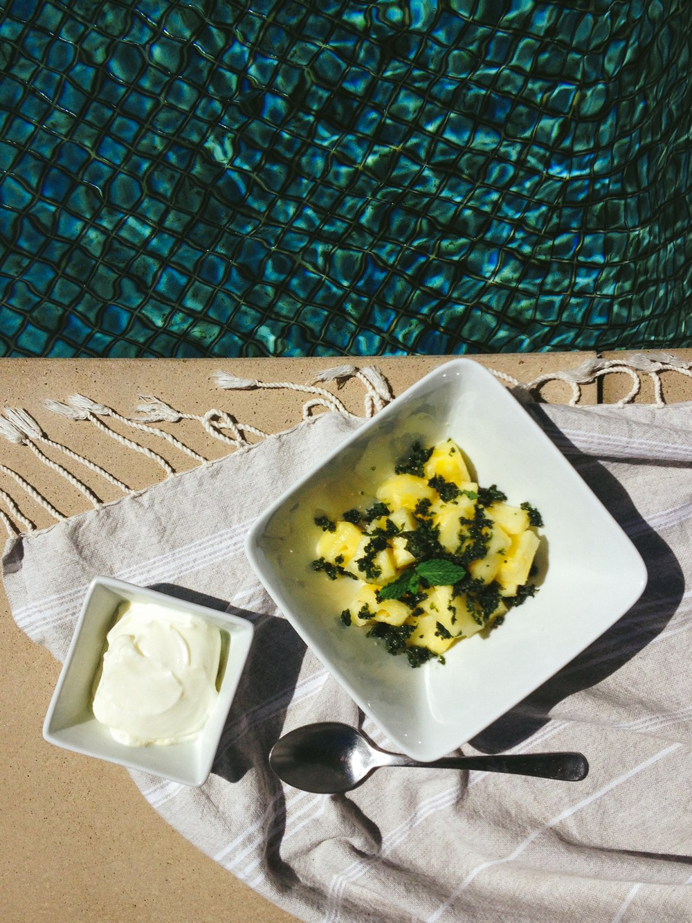 Pineapple with Mint and Sugar | Simple Provisions