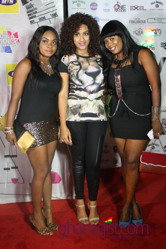 Beverly Afaglo Baah, Juliet Ibrahim and Ofeibea