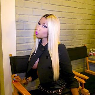 Nicki Minaj sexy outfit she wore on the ellen show