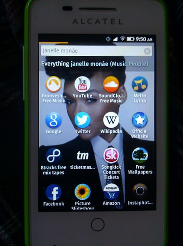 firefoxOS thinking of search screen