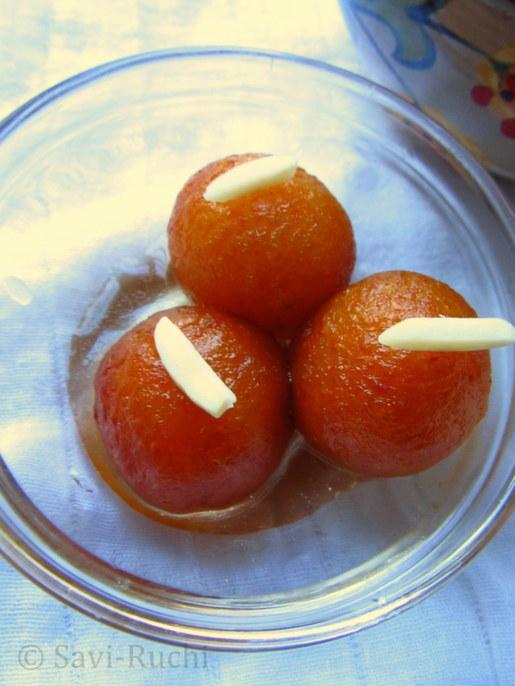quick gulab jamun recipe