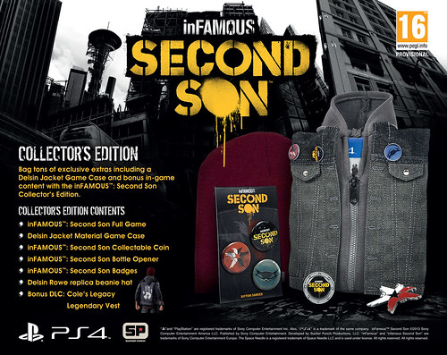 inFamous Second Son_Collectors Edition