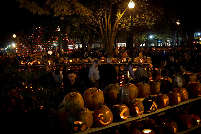 Keene, New Hampshire - Population: 23,409 | Pumpkin Festival attendance: 70,000+