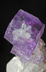 fluorite, quartz