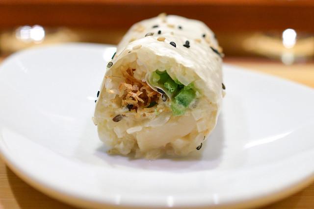 baked hama roll