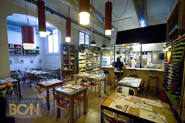 Woli Organic Market, Barcelona