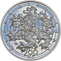 Czech coin Czech National Bank obverse