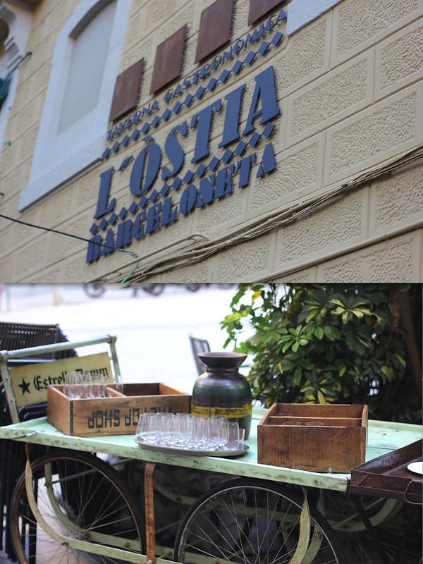 Restaurante L'Ostia Barceloneta