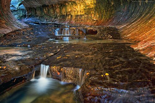 The underground rainbow