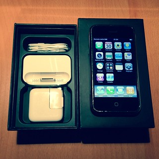 iPhone 2G package