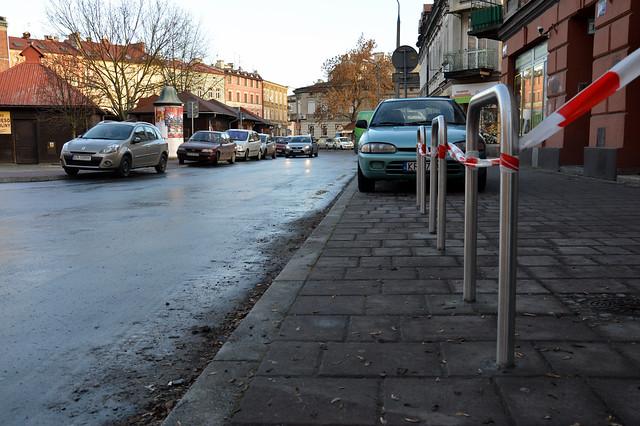 Stojaki w Krakowie
