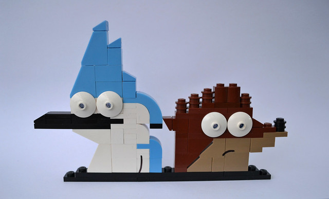 Mordecai and Rigby