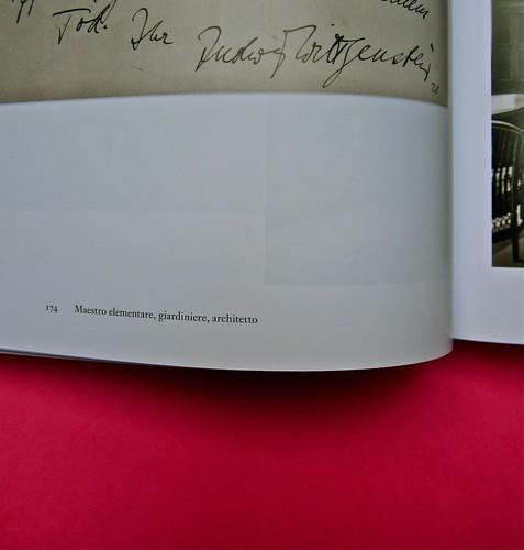 Michael Nedo (a cura di), Una biografia per immagini. Carocci 2013. Progetto grafico di Shoko Mugikura e Michael Nedo. Falcinelli & co. per l'ed. it. Pag. 174 (part.) 1