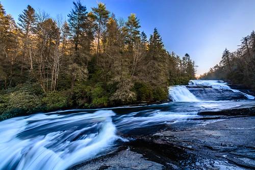 water waterfall unitedstates northcarolina pisgahforest triplefalls dupontstateforest