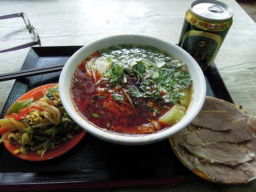 蘭州の牛肉拉麺