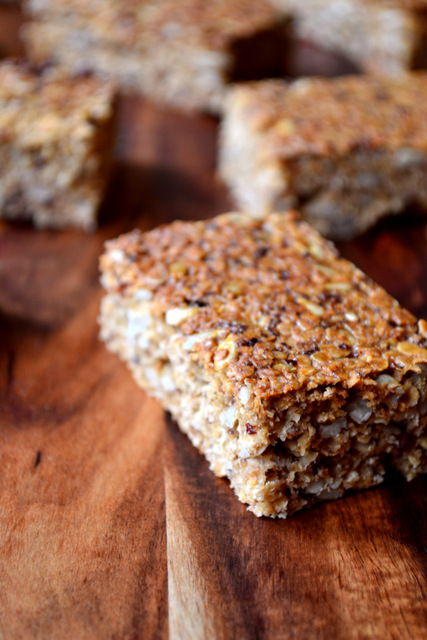 Sunflower Seed Flapjacks Recipe (1)