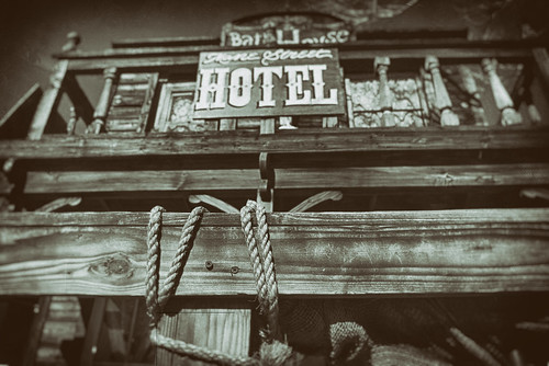 Mane Street Hotel And Bat House, Pioneertown by hbmike2000