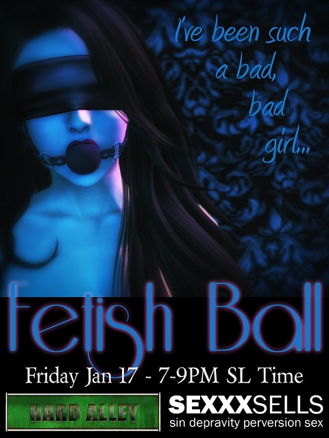 Hard Alley Fetish Ball!