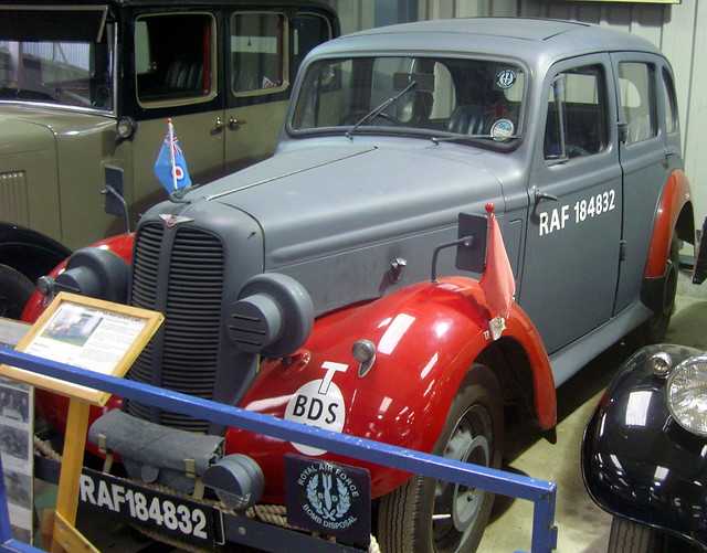 1938 Hillman Minx RAF Staff Car, The Shuttleworth Collection.