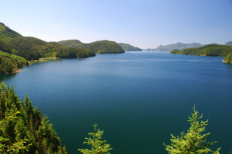 Tlupana Inlet, Nootka Sound, Vancouver Island, British Columbia, Canada