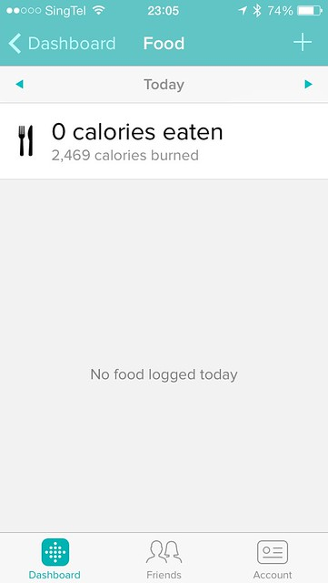 Fitbit iOS App - Food
