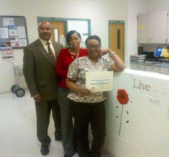 Corizon Virginia nurse elected employee of the month