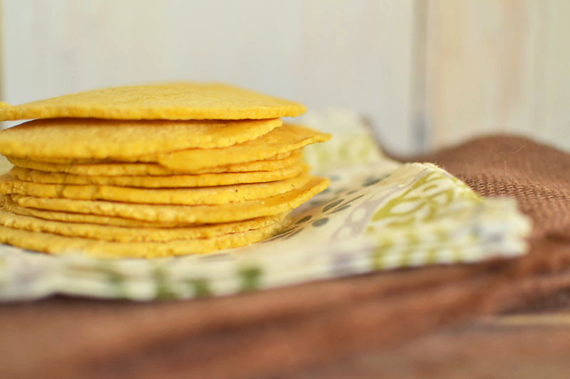 Homemade Tortillas via LittleFerraroKitchen.com