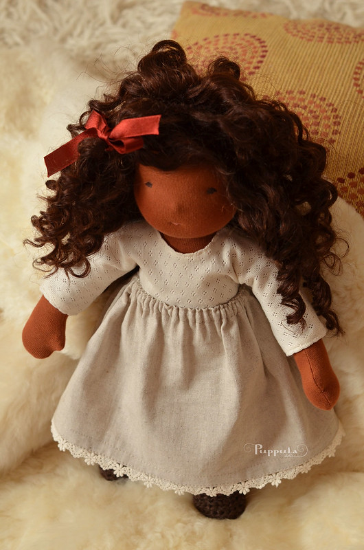 "Marika,  15"" waldorf inspired doll"