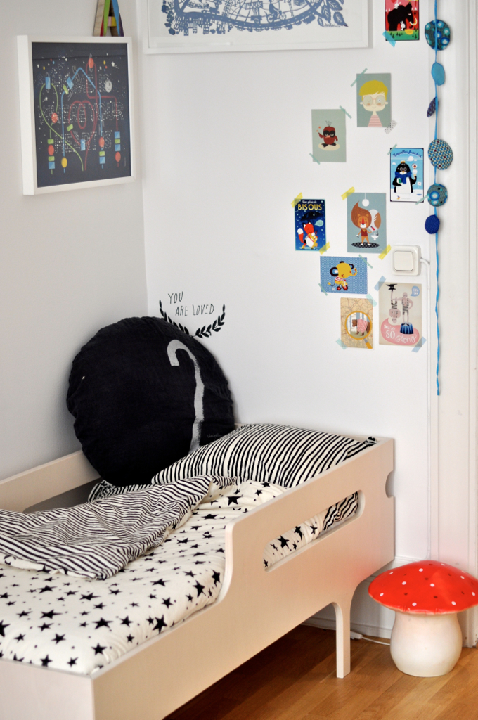 sibling kids room//noe&zoe bed linen