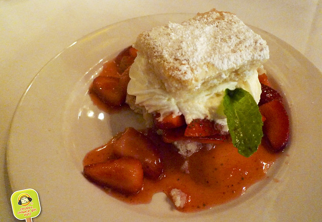 Commander's Palace - Ponchatoula Strawberry Shortcake