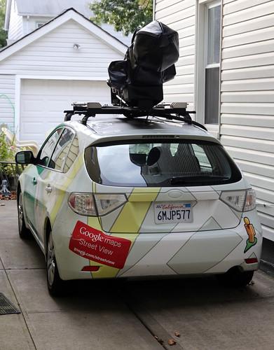 camera car google wrap queens covered subaru bigbrother impreza streetview hatchback bellerose