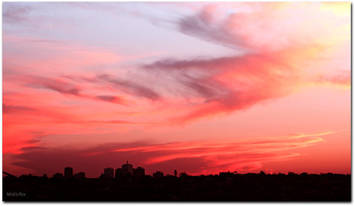 city sunset sky cloud sun color colour skyline clouds canon flickr afternoon sydney australia nsw newsouthwales canonphotography canon600d