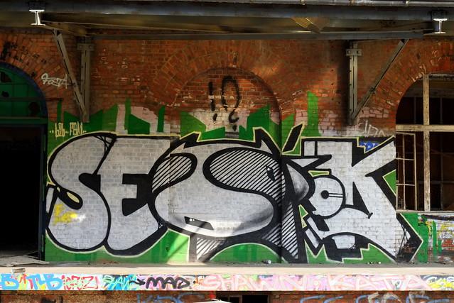 graffiti | urbex | bärenquell brauerei