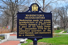 Washington's Headquarters historical marker
