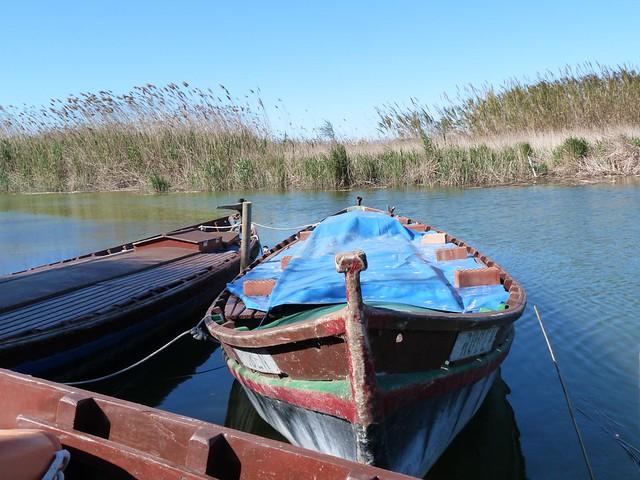Embarcadero de La Albufera de Valencia