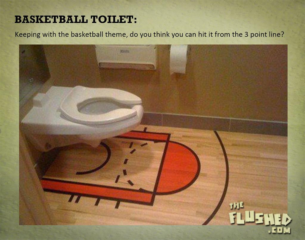 Basketballtoilet