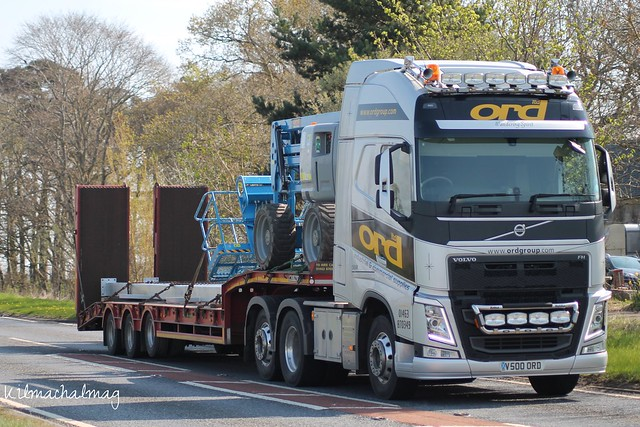Ord Group Muir Of Ord Volvo FH V500 ORD