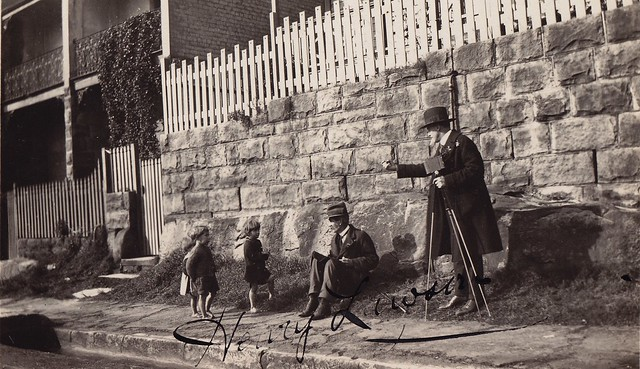 Henry Lawson & Children [RAHS Collection]