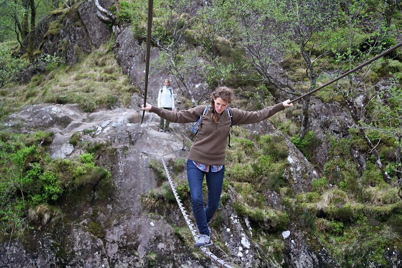 Steall Falls --Ben Nevis, Scotland
