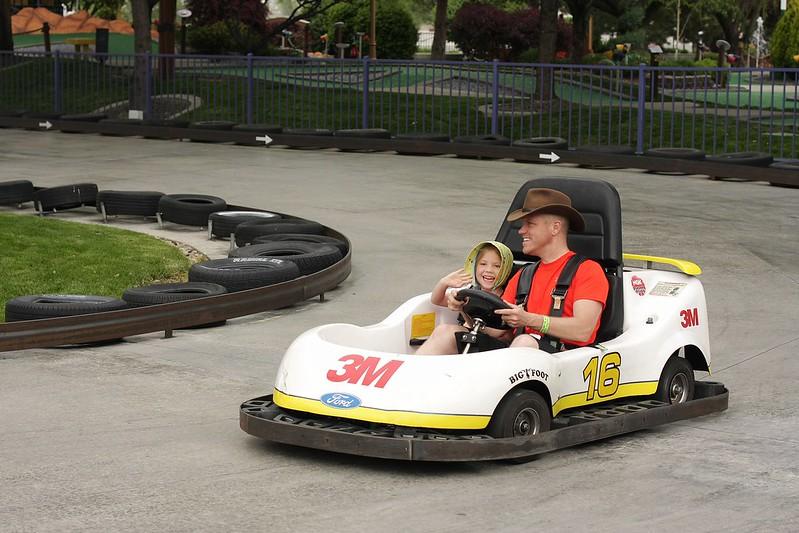 go kart with C