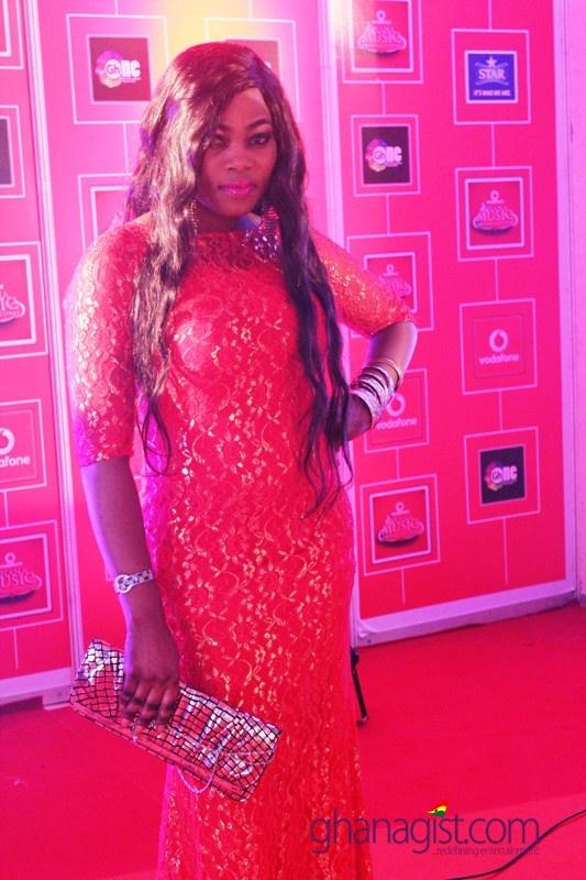 Joyce Blessin at 2014 Ghana Music Awards