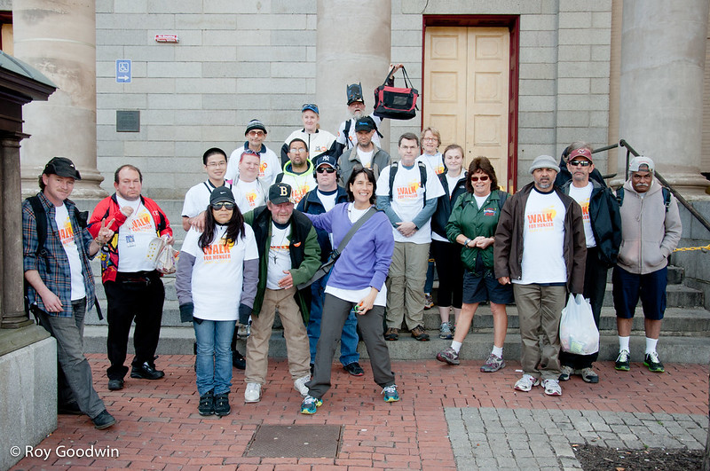Walk For Hunger 2014 - Cathedral Church of St Paul Boston