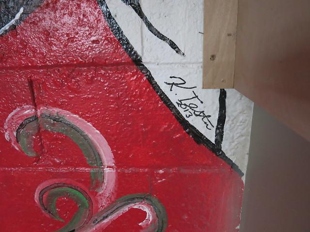 IMG_4813 2014-05-09 K Tester mural Victoria Greenhood Jewelry Design