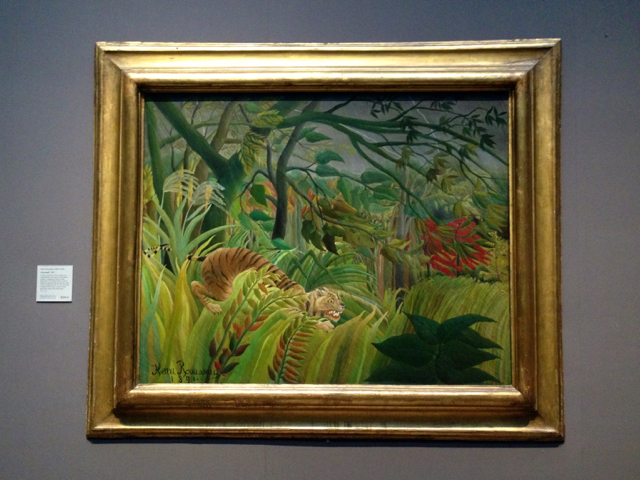 Surprised! - Henri Rousseau